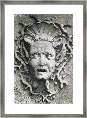 Gargoyle Framed Print by Simon Marsden