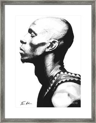 Garnet Framed Print by Tamir Barkan