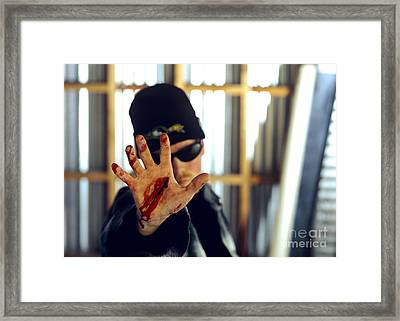 Gash Framed Print by Bruce Stanfield