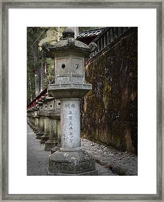 Gate Sculptures Framed Print by Naxart Studio