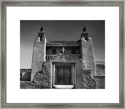 Gate To San Jose De Gracia Framed Print by Steven Ainsworth