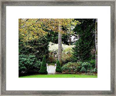 Gate To Wonderland Framed Print by Tanya  Searcy