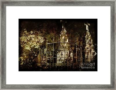 Gated Community Framed Print by Sari Sauls