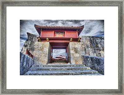 Gateway Framed Print by Karen Walzer