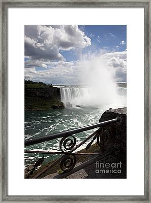 Gateway To Beauty Framed Print by Amanda Barcon