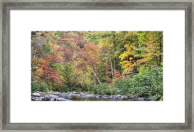 Gateway To Fall Framed Print by JC Findley