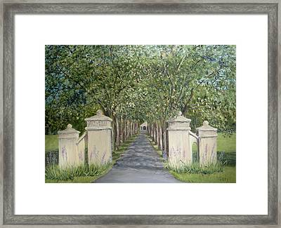 Gateway To Fonthill Framed Print