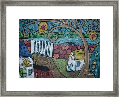 Gateway To The Sea Framed Print by Karla Gerard