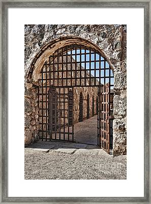 Gateway To The Unknown Framed Print by Sandra Bronstein