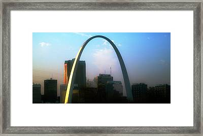 Gateway To The West 2 Framed Print