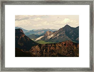 Gateway To Yellowstone National Park Framed Print by Flash Parker