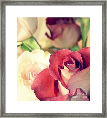 Framed Print featuring the photograph Gather Beauty by Robin Dickinson