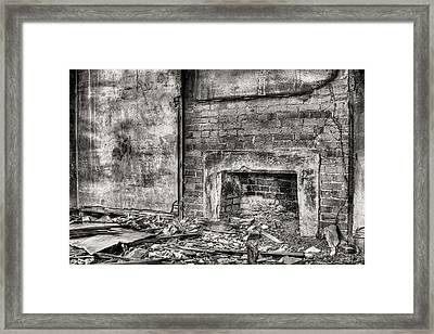 Gather Round Bw Framed Print by JC Findley