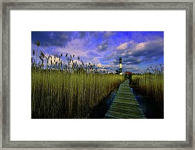 Gathering Clouds Framed Print by Rick Berk