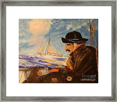 Gathering Storm Framed Print by Bill Hubbard