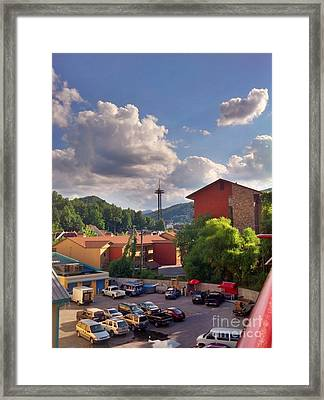 Framed Print featuring the photograph Gatlinburg Tn by Janice Spivey