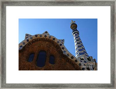 Gaudi Architecture Framed Print by Bob Christopher