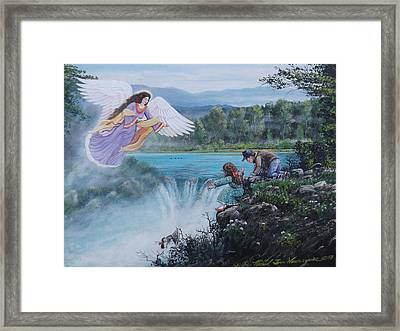 Gaurdian Angel Framed Print