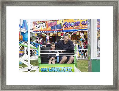 Gee Whizzer Framed Print by Lee Stickels