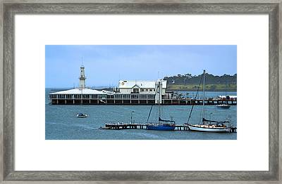Geelong Pier Framed Print by Tim Nichols