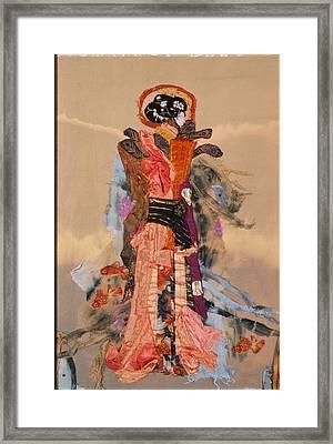 Geisha Framed Print by Roberta Baker