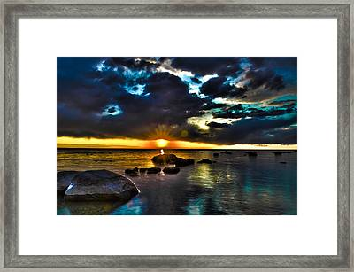 Gem Framed Print by Jason Naudi