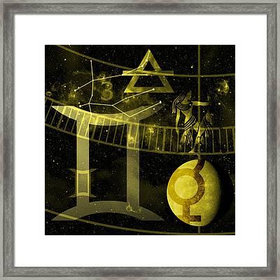 Gemini Framed Print by JP Rhea