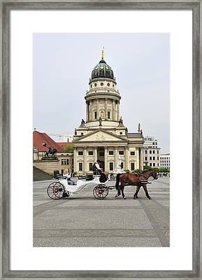 Gendarmenmarkt Berlin Germany Framed Print by Matthias Hauser