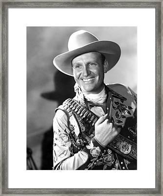 Gene Autry, Ca. 1946 Framed Print