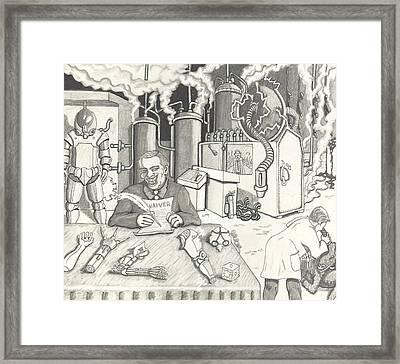 Gene Seeker Framed Print