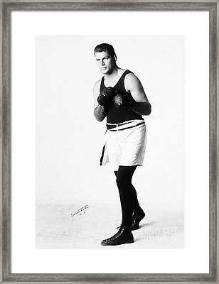 Gene Tunney (1898-1978) Framed Print by Granger