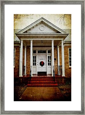 Genealogical Library  Framed Print by Toni Hopper