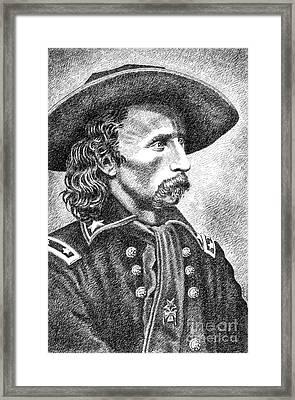 General Custer Framed Print