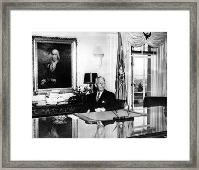 General George C. Marshall As Secretary Framed Print by Everett