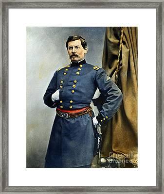 General George Mcclellan Framed Print by Granger