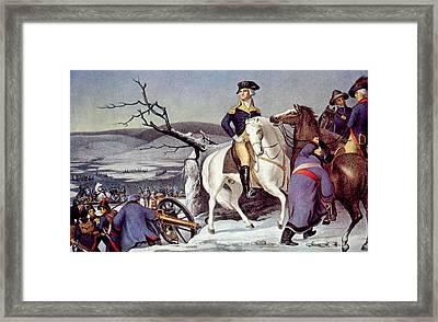 General George Washington Crossing Framed Print