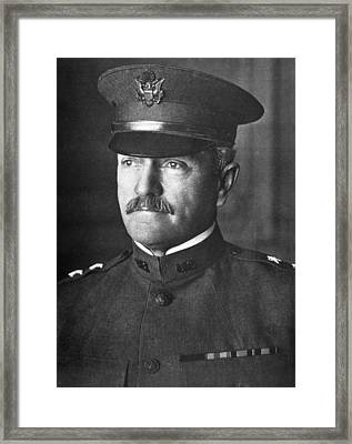 General John J. Pershing 1860-1948 Framed Print by Everett