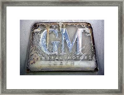 General Motors Framed Print by Luc Novovitch