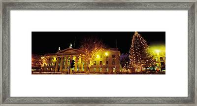 General Post Office, Oconnell Street Framed Print by The Irish Image Collection