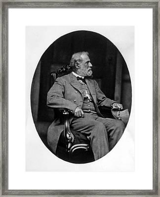 General Robert E. Lee 1807-1870 Framed Print by Everett