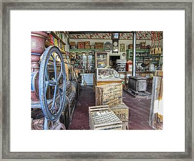 General Store 2 - Virginia City Ghost Town - Montana Framed Print