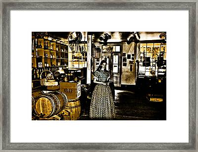 General Store Harpers Ferry Framed Print by Bill Cannon