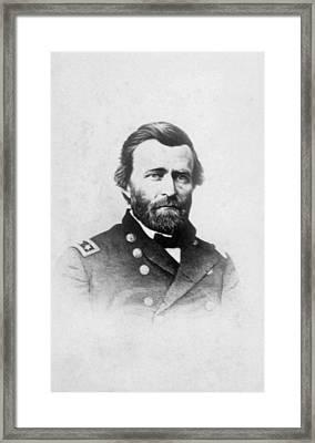 General Ulysses S. Grant 1822-1885 Framed Print