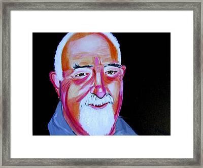 Generationx Max Framed Print by Rusty Woodward Gladdish