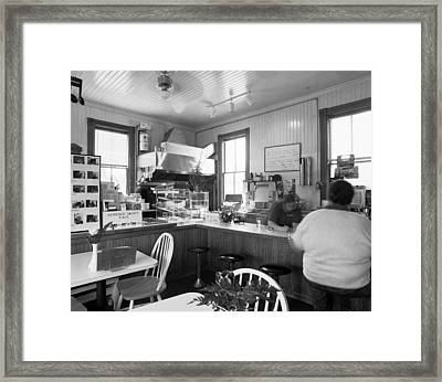 Gennessee Lunch Counter Framed Print