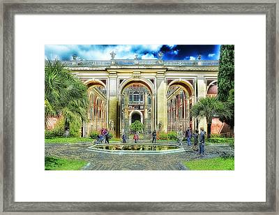 Genoa Royal Palace Framed Print by Enrico Pelos