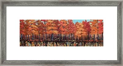 Gentle Autumn Breeze Framed Print by Tammy Watt
