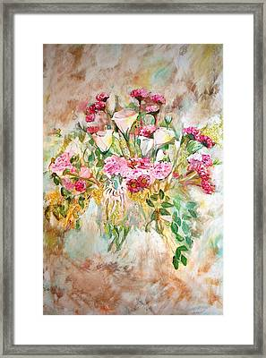 Gentle Framed Print by Ofra Moran