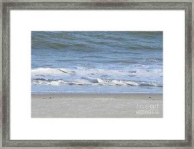 Gentle Tides Framed Print by Margaret Palmer