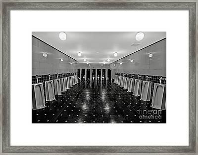 Gentlemen Only Framed Print by Susan Candelario